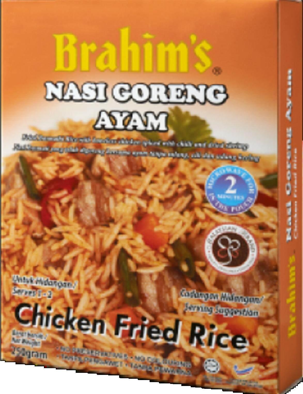 [BIGBox Asia] Brahim's Ready To Eat Chicken Fried Rice 250g - Malaysia