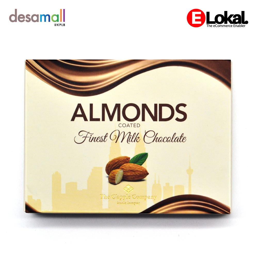 C'APPLE Milk Chocolate Almond (70g)