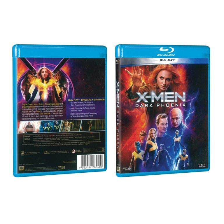 English Movie X-Men Dark Phoenix Blu-ray