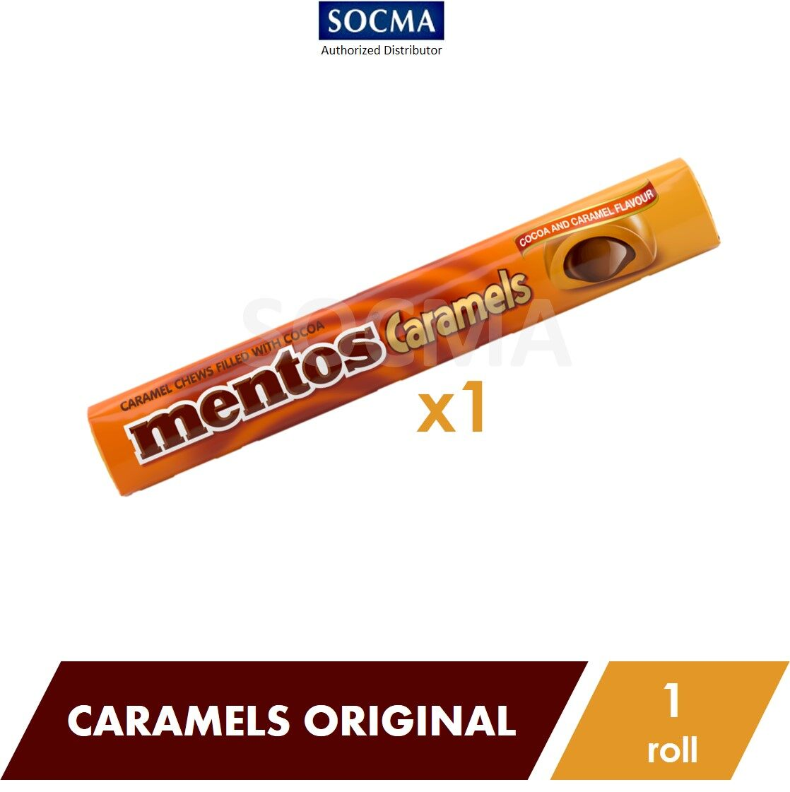 Mentos Caramel Original 37G [1]