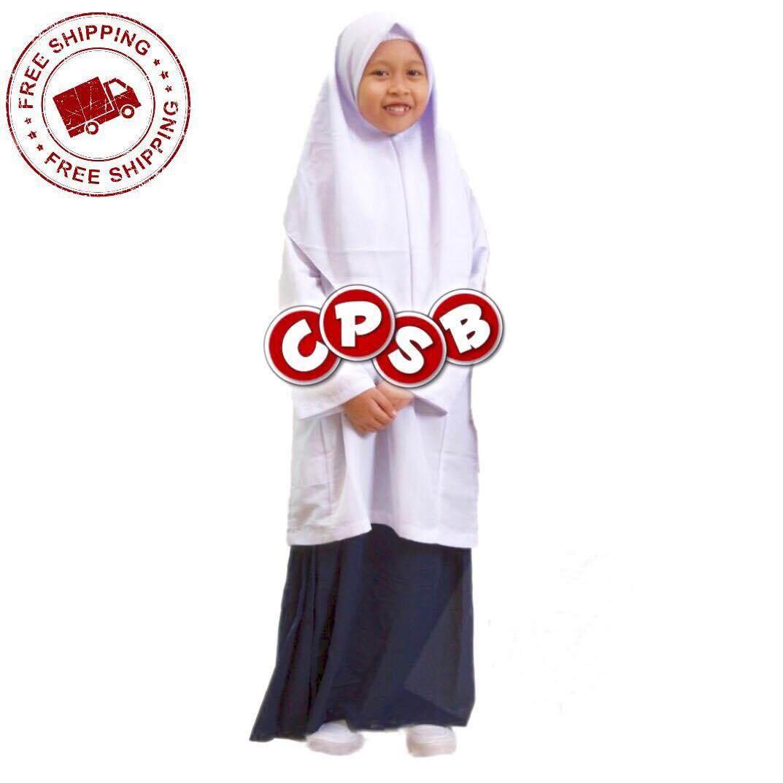 Harga School Uniform Baju Kurung Set (Baju + Kain) Terbaik