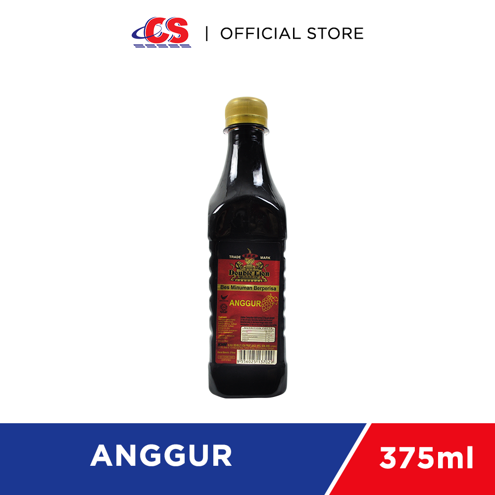 DOUBLE LION Concentrate Anggur 375ml
