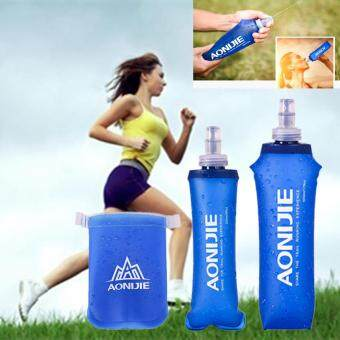 2PCS AONIJIE 170ml Soft Flask TPU Squeeze Outdoor Sports Running Water Bottle