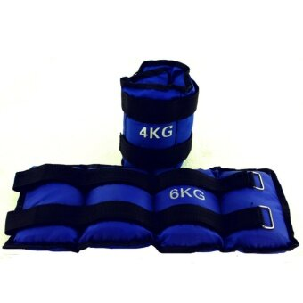 Harga 4kg Ankle Weights Sand bag Wrist Arm Leg SAND-FILLED