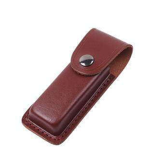Big Family Foldable Knife For Hunting Dagger Portable Sheath Cover Case Holder Brown