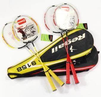 Couples style entertainment training 2 stick badminton rackets