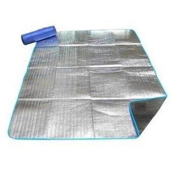 Desert Camel 200x200CM Waterproof Single Sided Aluminum Foil Camping Mat