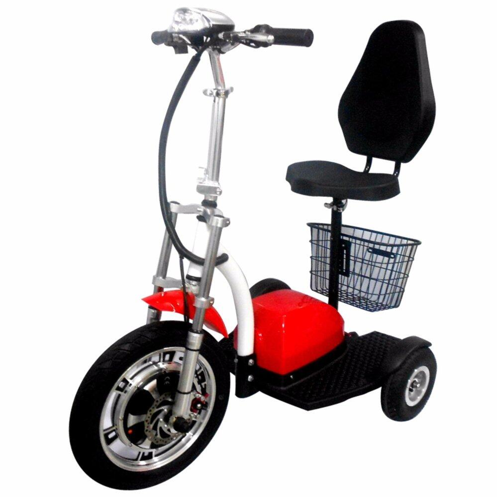Fresco Three Wheel Electric Scooter Premium 500W With Suspension
