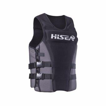 Harga Ocean NEW Life vest Surfing vest Buoyancy fishing vest Drifting vest(Grey)