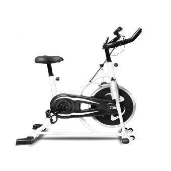 Harga Lexcon Indoor Cycling Bike / Ultra-quiet Fitness Spinning Bike / Upright Stationary Exercise Cycling Bike w/ LCD Monitor FREE water bottle