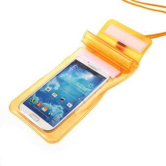 Harga Orange Waterproof Dry Bag Pouch for iPhone Samsung Sony HTC Etc, Fat Size: 13.5 x 9cm
