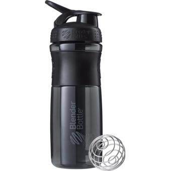 Harga GYM FITNESS blender shaker bottle botol shaker HITAM BLACK