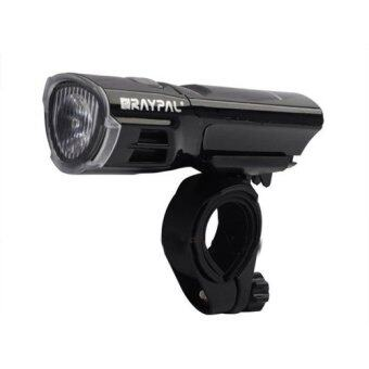 Harga RAYPAL CREE Bicycle Super Bright Head Torch Light Lamp (Black)