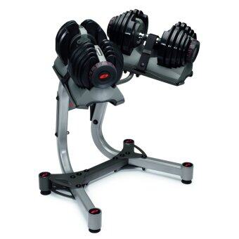 Harga Bowflex SelectTech 1090 Adjustable Dumbbells (Pair) With Stand
