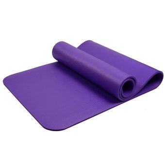 Harga Malm Fitness 10mm High Quality Yoga Mat (Purple)