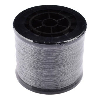 Harga 360WISH 1000m 100lb Super Dyneema Strong Braided Ultra powerful Fishing Line (Grey) (EXPORT)
