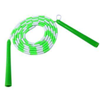 Harga 360WISH Bamboo Joint Counting Skip Rope Entertainment Exercise Jump Rope Fitness Equipment - Green