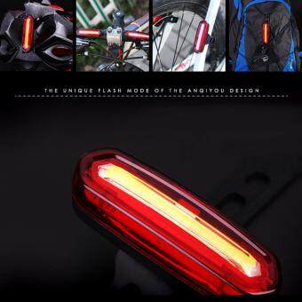 Harga Deemount 100 LM Rechargeable COB LED USB Mountain Bike Tail Light Taillight MTB Safety Warning Bicycle Rear Light Bicycle Lamp