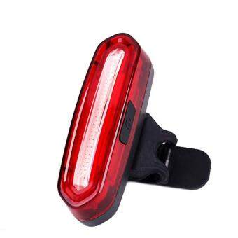 Harga Jeebel 2017 New Night Safety Taillight Bicycle USB Rechargeable LED Light Bike Front / Rear Light Outdoor Cycling Warning Lamp