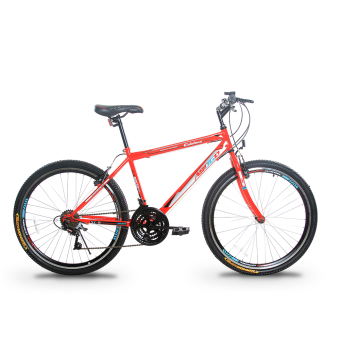 Harga Asogo Mountain Bike 26 Inch with 21 Speed Matte Red