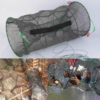Harga 1 pc Crab Crayfish Lobster Catcher Pot Trap Fish Net Eel Prawn Shrimp Live Bait Best Item Hot Sale