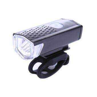 Harga 300LM Bicycle CREE LED Lamp USB Rechargeable Bike Front Light