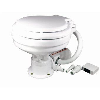 Harga ONE STOP MARINE TMC ELECTRIC MARINE TOILET SMALL BOWL WITH STANDARD SEAT COVER DC12V