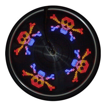 Harga Bicycle Wheel Signal Tire Spoke LED Lights Decoration Lights Multicolor