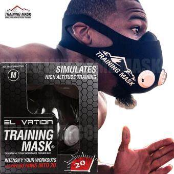 Harga Elevation Training Mask 2.0 High Altitude Fitness Outdoor Sport 2.0 Training Mask Supplies Equipment(size:S)