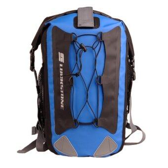 Harga JHD Lightweight Waterproof Dry Bag,100% Waterproof Backpack,Compression Dry Sack,Durable Roll Top Dry Backpack with 2 Adjustable Shoulder Straps for Boating, Kayaking, Sailing, Rafting, Canoeing, Camping - 30 L,2 Colors