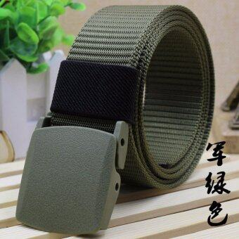 Harga Men Fashion Outdoor Belts Sports Military Tactical Nylon Waistband Canvas Web Belt Hot Sale Waist Belt