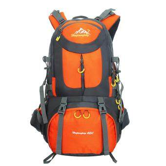 Harga 360WISH 40L Nylon Fabric New Fashion Backpack Super Waterproof Tearing Resistance Sport Backpack - Orange