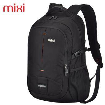 Harga 33*19.5*49cm High Grade MIXI Outdoor Sports Travel Bag Camping Backpack Bag Black