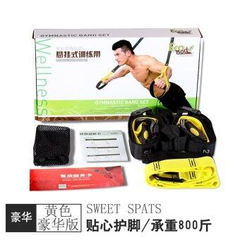 Harga ECOBODY TRX suspension training belt rope fitness fitness training rope exercise fitness equipment home