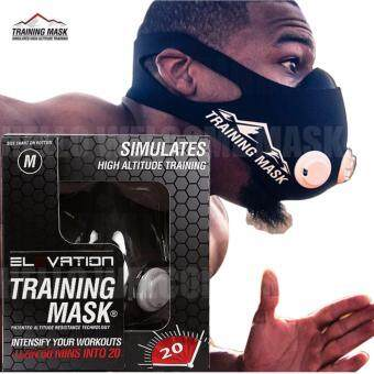 Harga Elevation Training Mask 2.0 High Altitude Fitness Outdoor Sport 2.0 Training Mask Supplies Equipment(size:M)