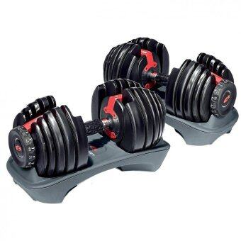 Harga Bowflex SelectTech 552 Adjustable Dumbbell Weighlifting Fitness (2 units)