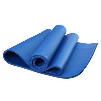Harga LEXCON Hign Quality 8mm NBR Yoga Mat (BLUE)