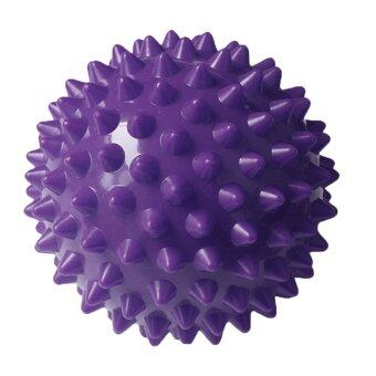 Harga 360WISH Yoga Ball Spiky Acupoint Trigger Point Stimulating Stress Relief Massage Ball - Purple