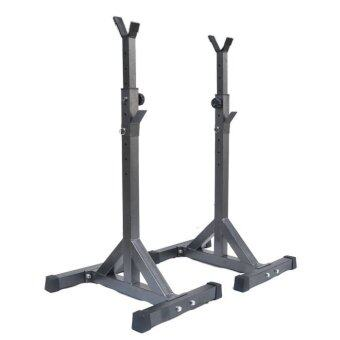 Harga Fitness Gym Adjustable Squat Rack