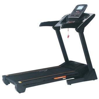 Harga 3 Years Warranty - Lexcon Motorized Folding Treadmill Running Machine / Medium Commercial Motorized Treadmill with motorized Incline (Black)