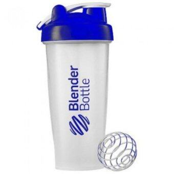 Harga Blender Bottle Nutrition & Protein Shaker Mixer Bottle with Steel Ball (Blue)