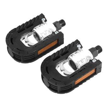 Harga Paired Aluminum Alloy Bicycle Mountain Bike Non-slip Folding Pedals
