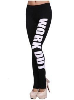 Harga Work Out Fitness Legging White