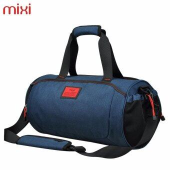 Harga 46*23*23cm High Grade MIXI Outdoor Sports Storage Equipment Travel Bag Blue