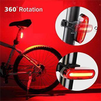 Harga USB Rechargeable Waterproof LED Light Bicycle Bike Cycling Front Rear Tail Lamp,Discoloration Sirius Tail Lights Night Riding COB Warning Lights Riding LED lights