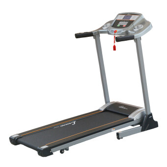 Harga 2 years warranty - Motorized Folding Treadmill Running Machine with Body Fat Test(Grey)
