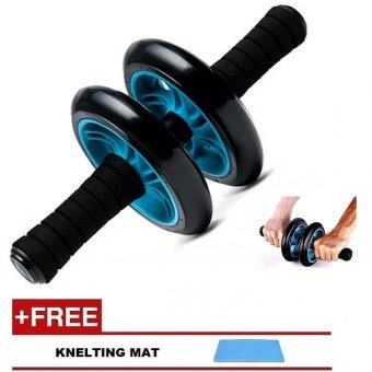 Harga New Generation Double Wheel AB Roller Free Knee Mat- Stable