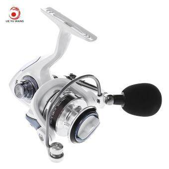 LIEYUWANG 13 + 1BB ( True 5 + 1BB ) Full Metal Fishing Spinning Reel with Exchangeable Handle (HC1000) ...