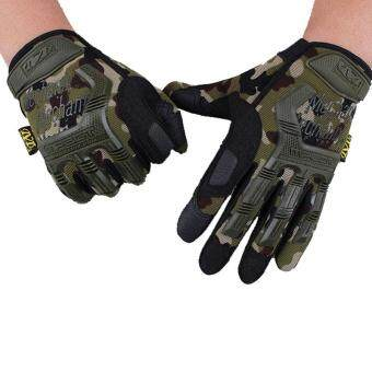 Outdoor Hiking Camping Safety Gloves Super Technician Full Finger Tactical Cycling Riding Waterproof Skiing Glove