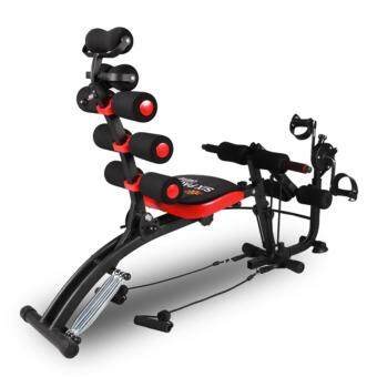 Harga Six Pack Care NEW with BIKE / PADDLE. Gym AB Six Pack Care TotalBody Gym Station (Black)